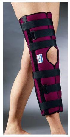 Ортез (фиксирующая шина) коленного сустава