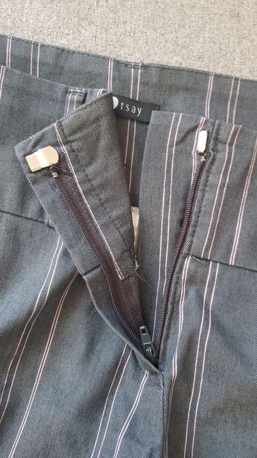 Spodnie damskie 3/4 Orsay r.38