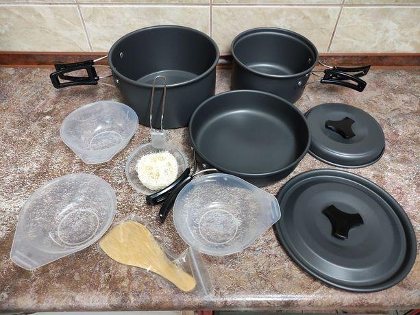 Новые наборы туристической посуды для небольшой компании