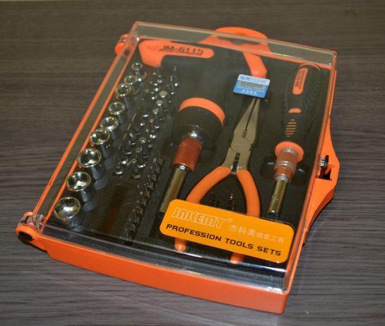 Качественный набор инструментов, 60 в 1 JAKEMY JM-6115 (оригинал)