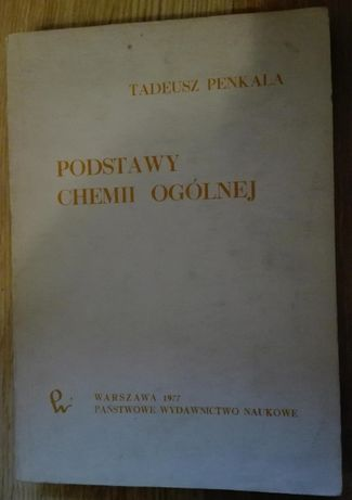 Podstawy chemii ogólnej - Tadeusz Penkala
