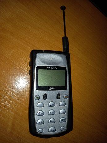 раритетный мобильный телефон Phillips genie