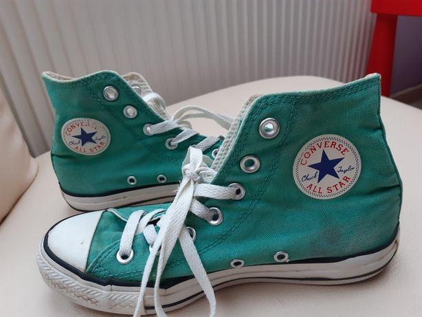 Trampki Convers 37 zielone