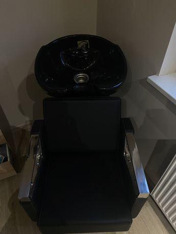 Myjka fryzjerska plus 2 fotele