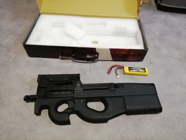 pistolet maszynowy P90 kingarms replika asg