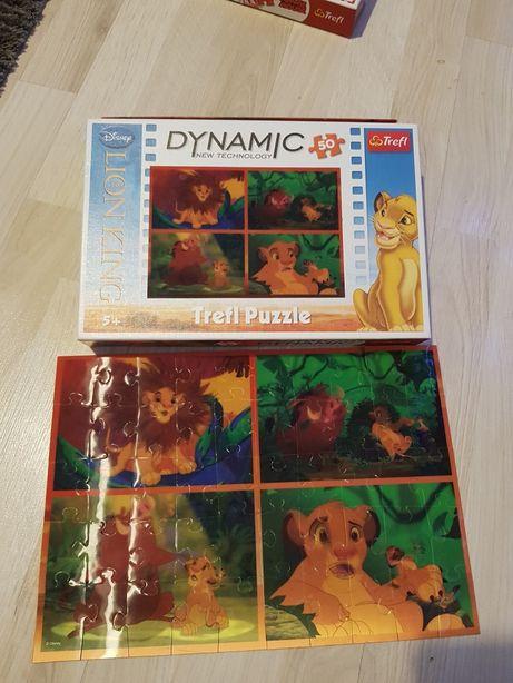 Puzzle Dynamic Król Lew 50 szt ideał