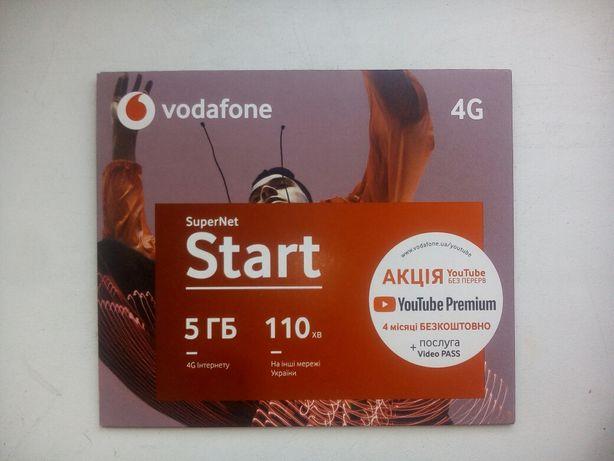 Новый стартовый пакет Vodafone Super Net Start.Цена 400 рублей.
