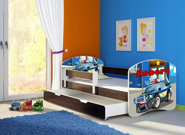 Łóżko, łóżeczko dziecięce Wenge 180x80