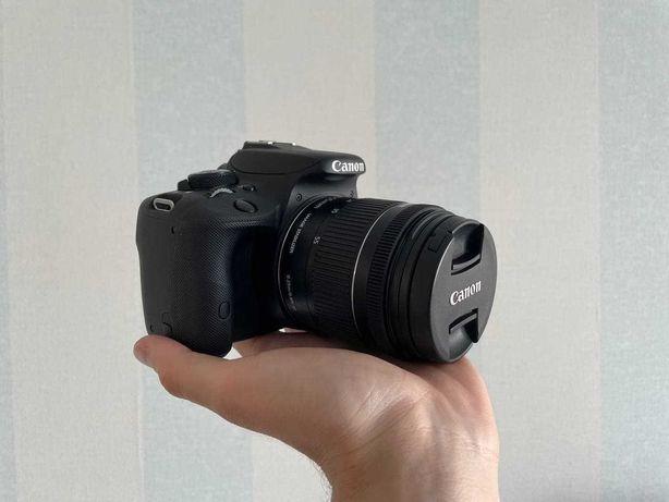Canon EOS 100D + 4-5.6 18-55 IS STM + аксессуары (аналог 650D, 700D)