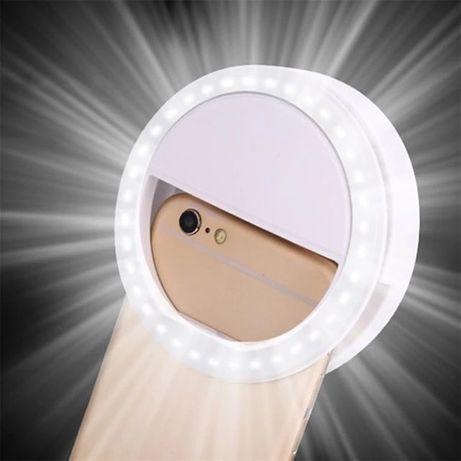 Mini Ring Light telemóvel