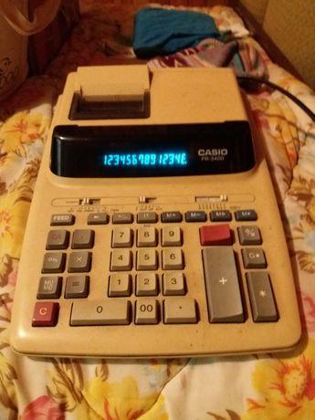 Oldschoolowy Kalkulator Casio FR-3400 - sprawny OKAZJA!