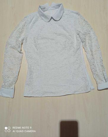 Блузка женская  белая 42