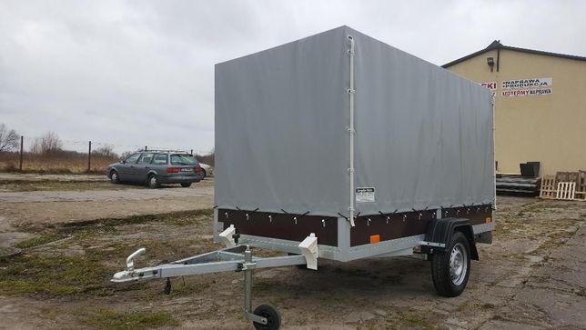 przyczepa lekka Cargocar PJ75 - nowa