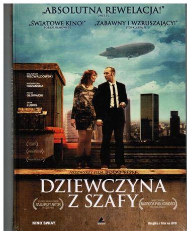 dvd DZIEWCZYNA Z SZAFY, nowe, zafoliowane,/mecwaldowski,lubos,głowacki