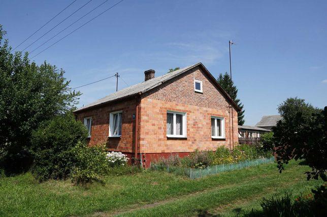 Dom na wisi 40ar Gospodarstwo rolne siedlisko ogród sadek + 1ha ziemi