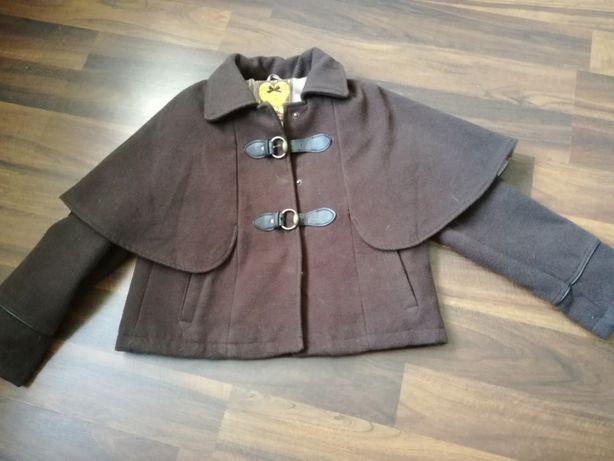Jesień Kurtka płaszcz krótki 146 cm 10-11 lat