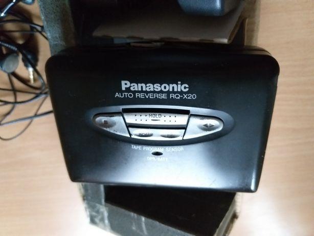 Продам стильный плеер аудиокассет от Panasonic в металле (Japan)