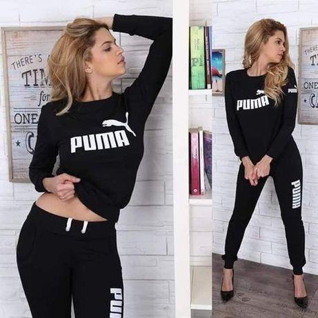 Dresy damskie z logo Puma czarny S-Xl!!!