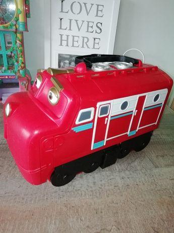 Кейс для хранения паровозиков Chuggington Большой Уилсон