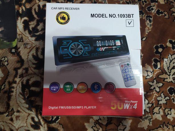 Автомагнитола Pioneer 1080ВТ Bluetooth+USB+SD+AUX+пульту