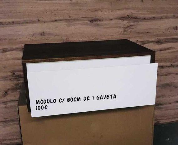 Móvel de Casa Banho com 1 gaveta soft-close  - NOVO