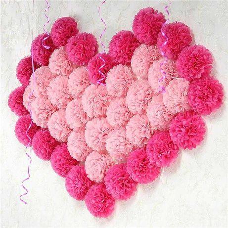 15 См Тканевые Цветы Ручной Работы Декор Свадьба Юбилей-10шт ТОП 2021