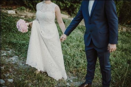 Sukienka Ślubna Styl Rustykalny, Boho
