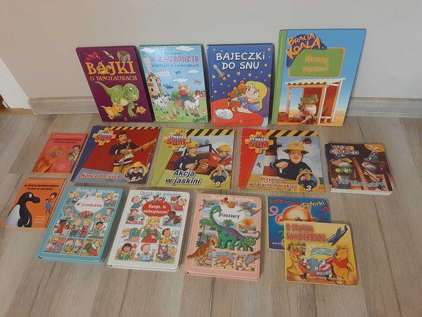 Zestaw 15 książek dla dzieci
