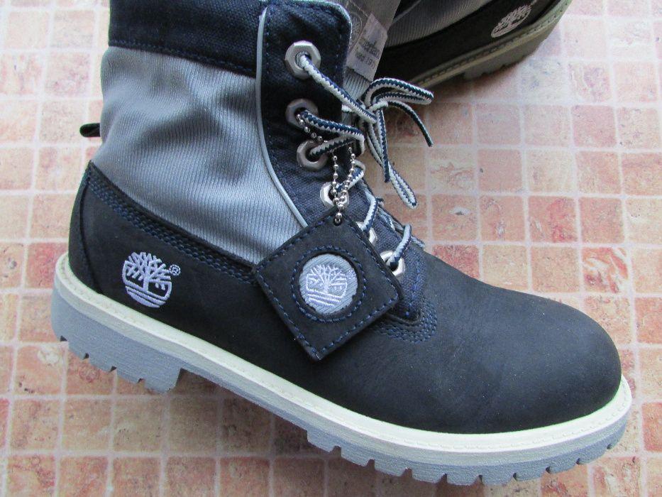 ботинки оригинальные Timberland кожа для девушки по стельке 24,5 см Запорожье - изображение 1