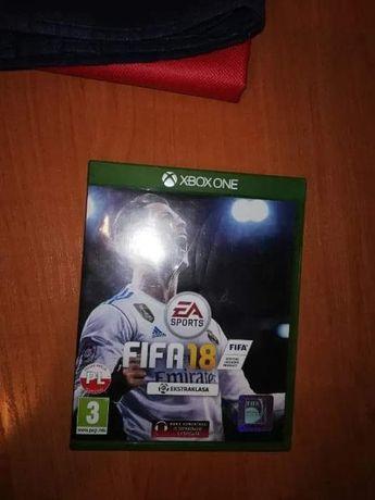 Sprzedam grę FIFA 18 na Xbox one