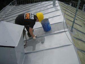 Покраска криш домов та ремонт (шифер, метал.