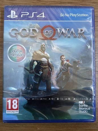 Jogo PS4 God of War novo