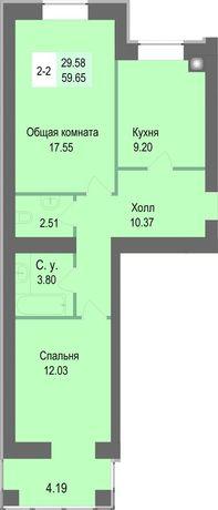 Дом построен!38,800$2ком(59м2) Рассрочка на 30 месяца.