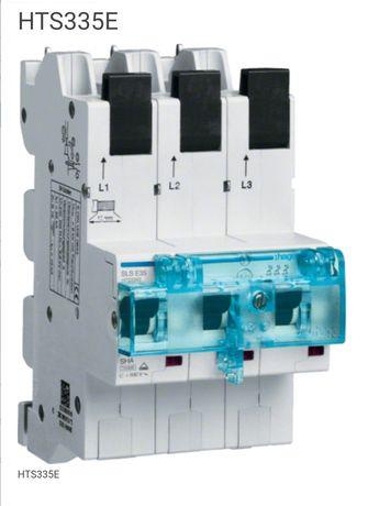 Wyłącznik nadprądowy selektywny 3P, E, 35 A, MCB SLS. Bezpiecznik