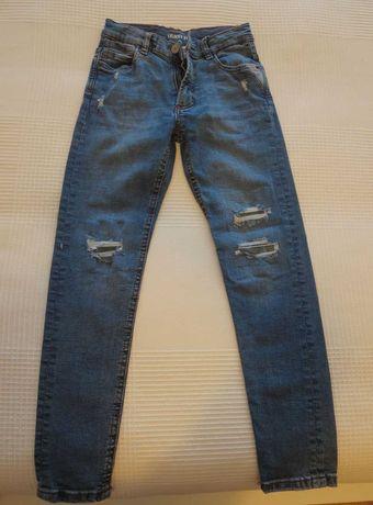 Vendo calças Ganga NOVAS ( efeito rasgado )