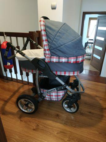 Wózek 3w1 twing Karex plus gratisy mało używany