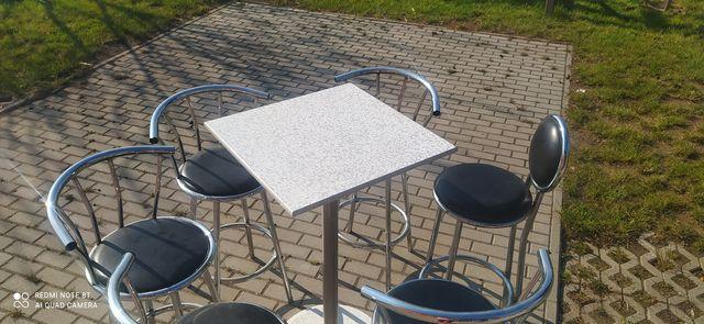 Krzesla barowe stan dobry