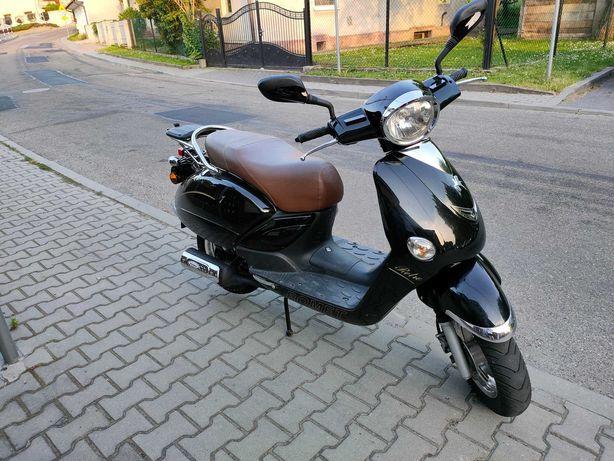Romet Retro 7 skuter motorower 2012 stan idealny przebieg 3500 km