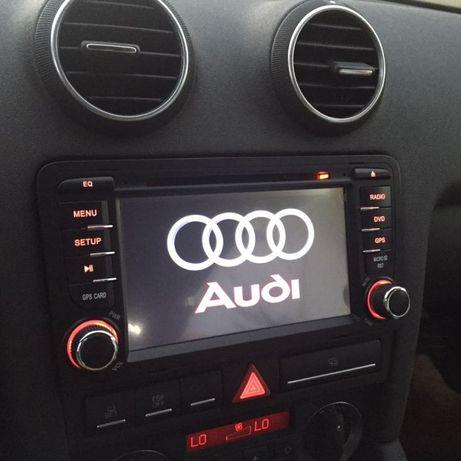 radios Novos audi a3 8p gps dvd bluethoot
