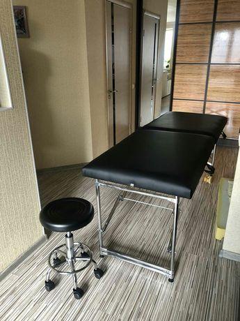 Виробництво... Масажний стіл, косметологічна кушетка, массажный стол