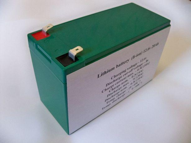 Аккумулятор Li-ion 12v 20Ah (12в 20Ач)