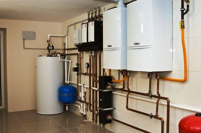 Ремонт газовых котлов,колонок.Демонтаж-монтаж,сервисное обслуживание.