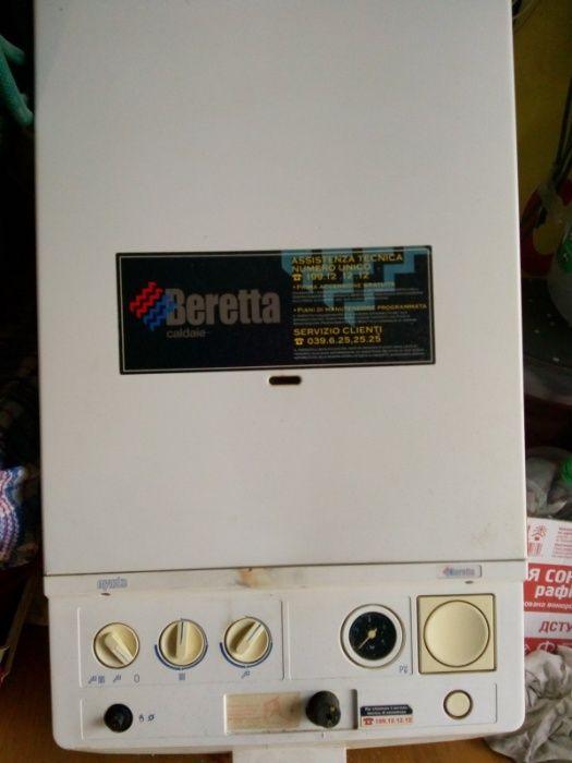 котел Beretta двухконтурний італійський. б/у Львов - изображение 1