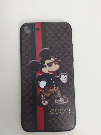 Case iPhone 7 8 czarny nowy nieuzywany