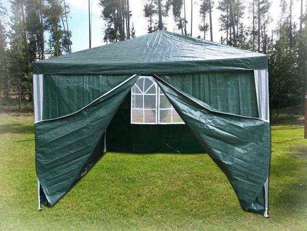 PAWILON OGRODOWY Namiot Altana do Ogrodu 3x3m + 4 ścianki | WYPRZEDAŻ!