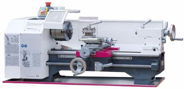 Torno mecânico OPTIMUM TU2304, c/ 450mm entre pontos, 6 velocidades