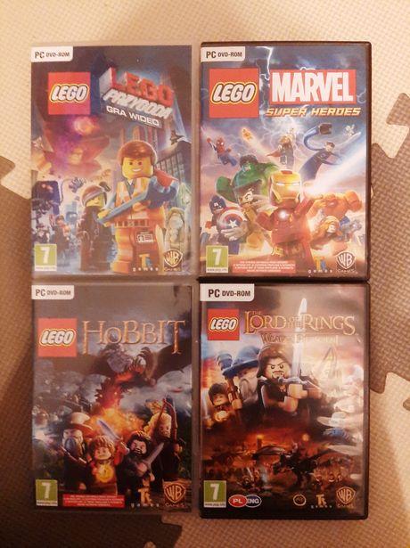 Lego gra pc Marvel Movie Hobbit LOTR 4szt