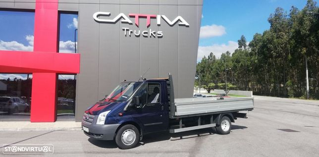 Ford Transit 3500kgs 2.4 144cv caixa aberta ac gps