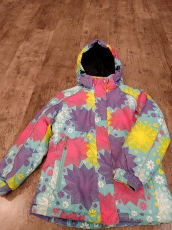 Зимняя термо - куртка KALBORN на девочку 9-10 лет + термо-штаны