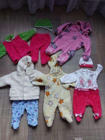 Одежда человечки боди костюмы 0-3 мес
